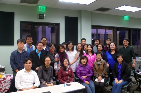 About 30 participants attended the mediation skills training workshop led by Jae Young Lee