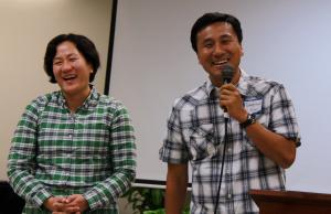 Sunwhan and Jeehye share their joy of this new ministry and give their words of blessing