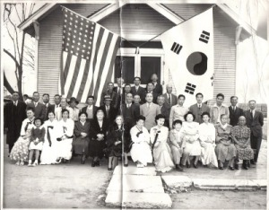 Dinuba Korean Presbyterian Church (no longer standing), one of the first Korean church on the mainland, was built in 1912.